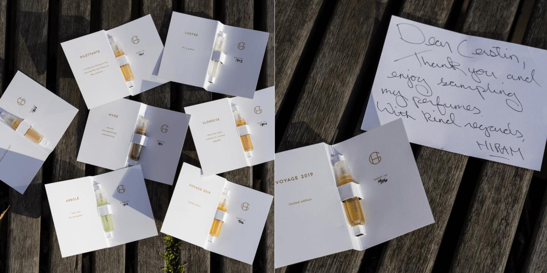 Hiram Green Parfums für die Seele Lustre Dilettante Moon Bloom Arbole Slowdive Hyde Voyage 2019 Erfahrungen