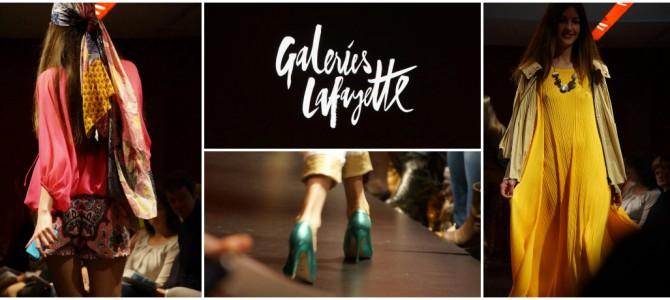 Cheap & Chic… zur Fashion Show in den Galeries Lafayette Paris