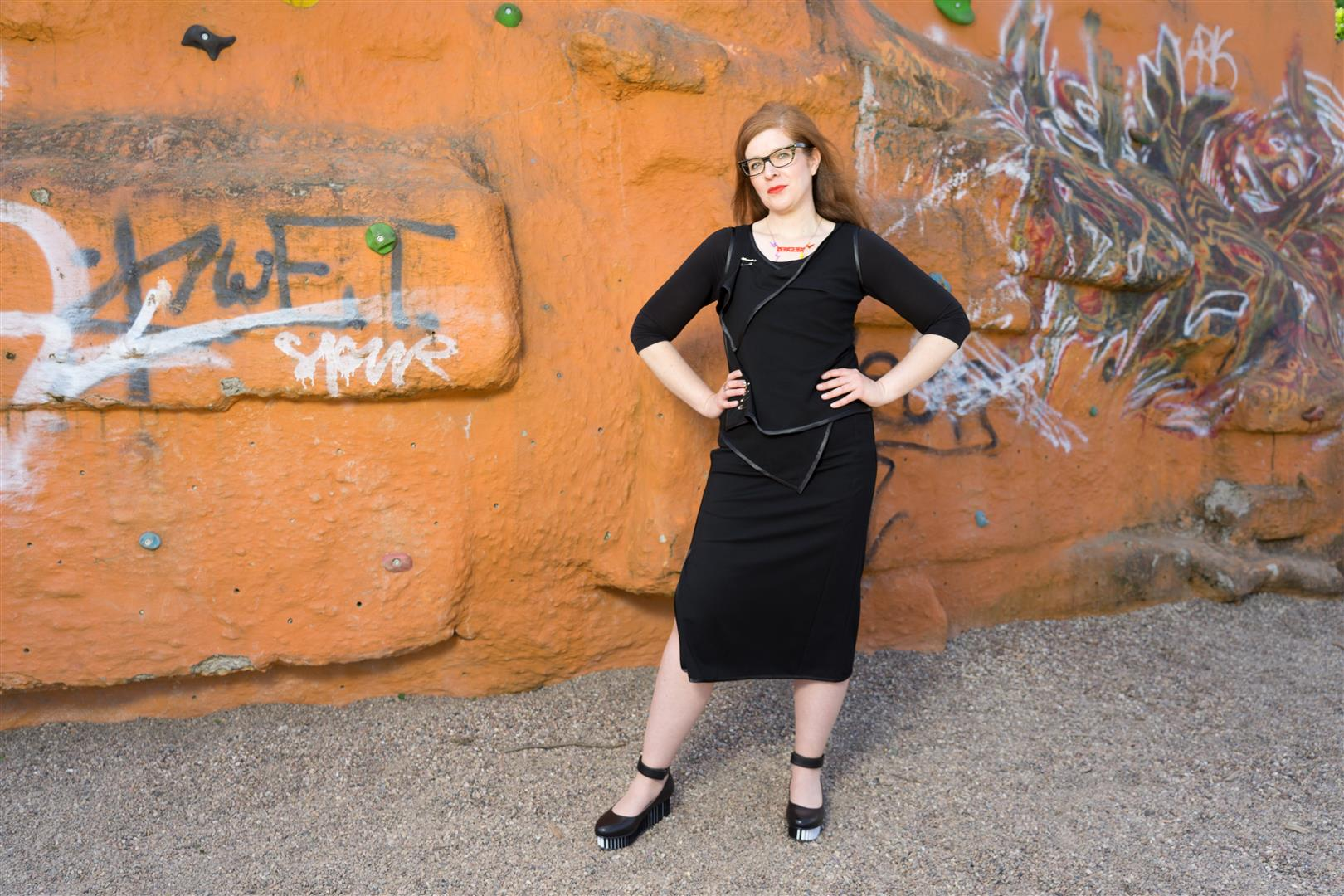 atelierD Bielefeld Fashion Modeblogger Punk IKNMLO