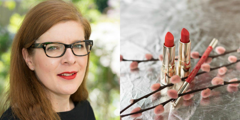 Clarins Lippenstift Rouge Velvet 742V joli rouge ü40 Modeblog iknmlo