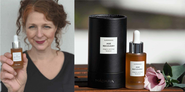 Trockenöle für reife Haut Madara Age Recovery Gesichtsöl
