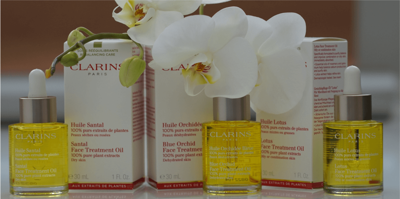 Trockenöle für reife Haut Clarins Huile Santal