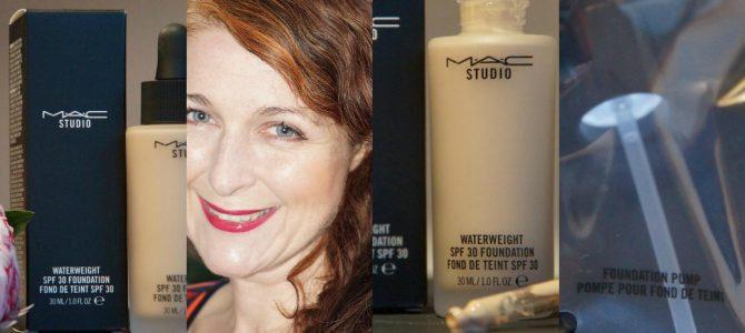 Make-up light: die MAC Studio Waterweight SPF30 Foundation
