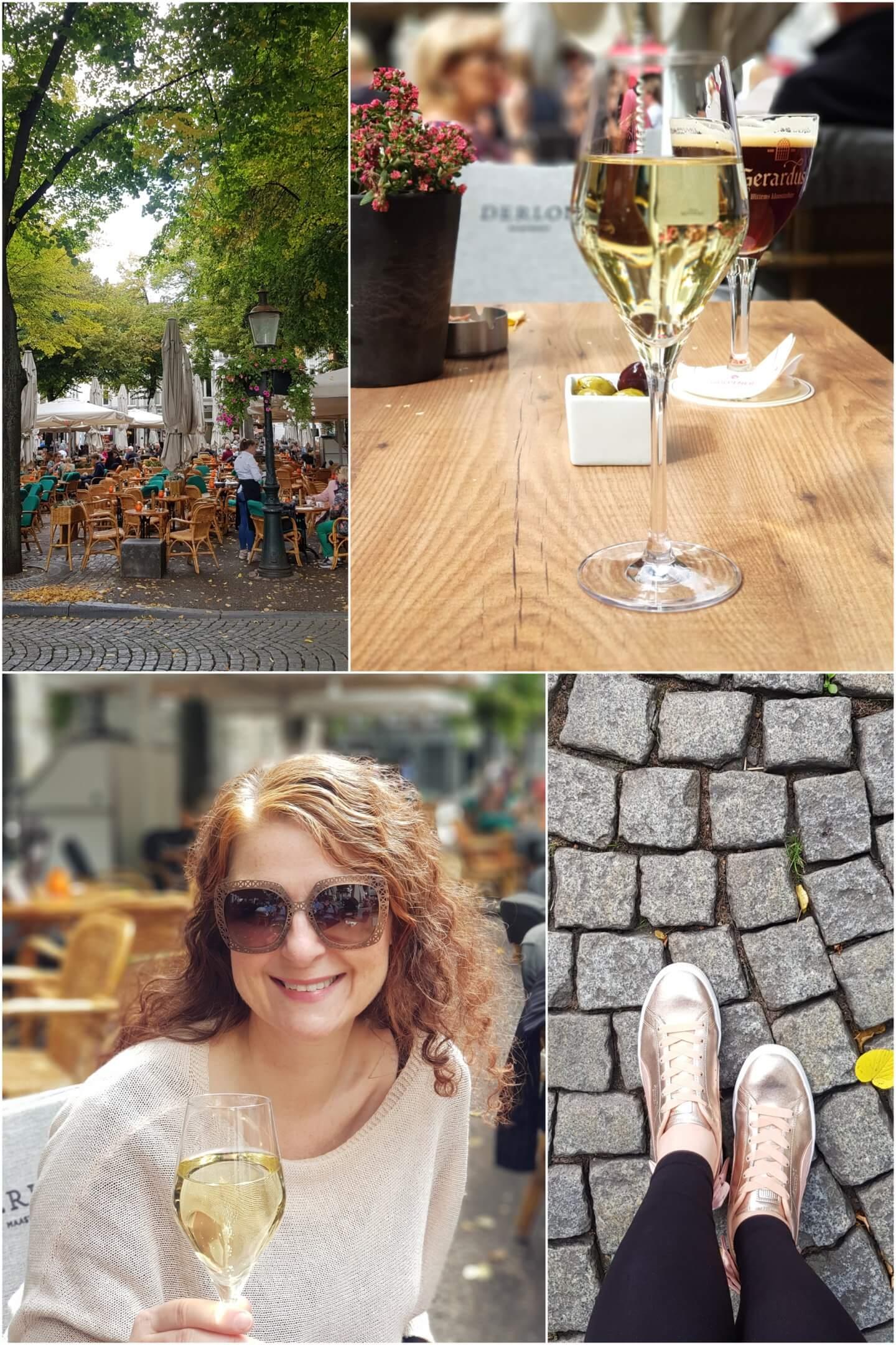 Maastricht Derlon Onze Lievevrouwen plein Champagner