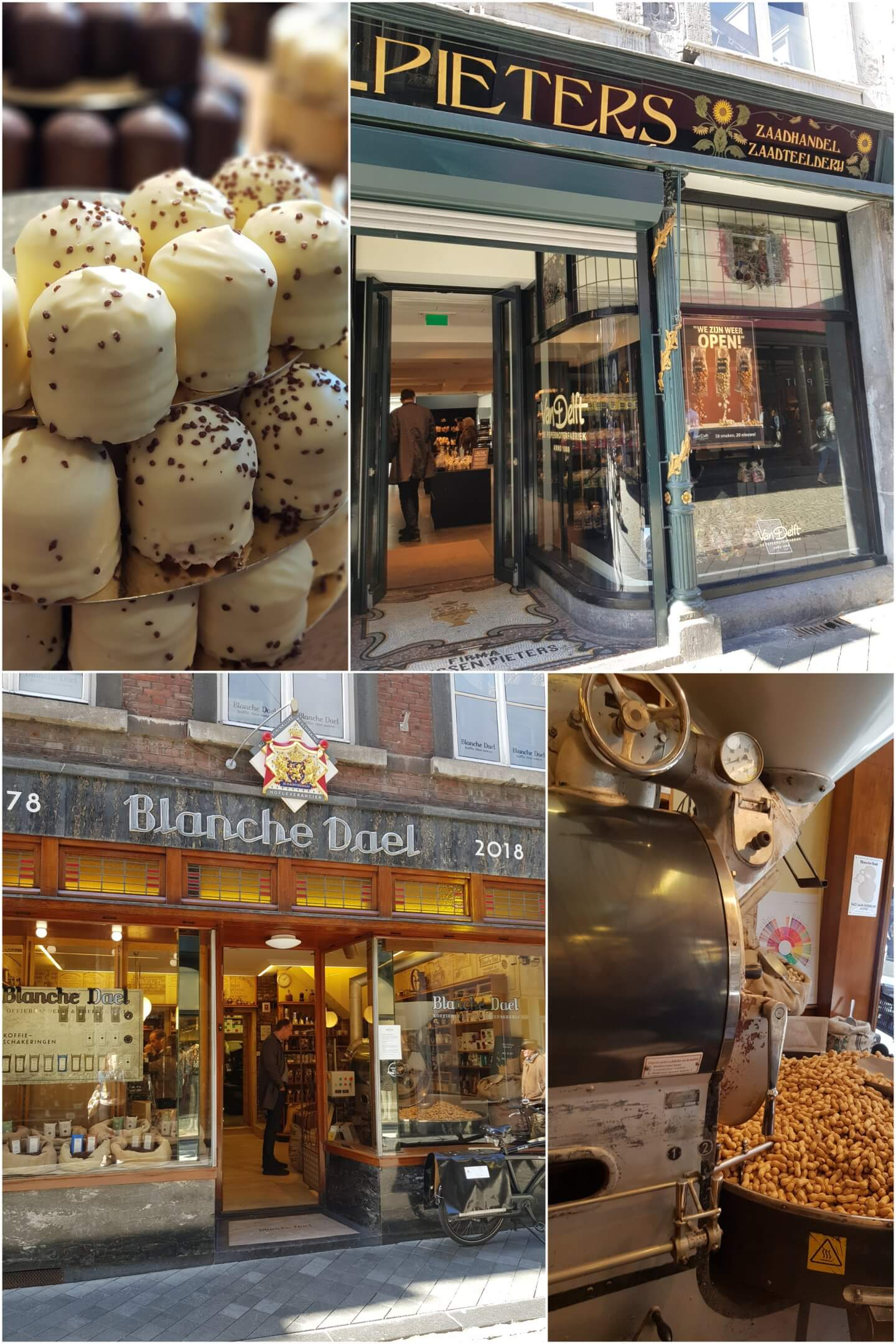 Maastricht Snacks von Delft Blanche dael
