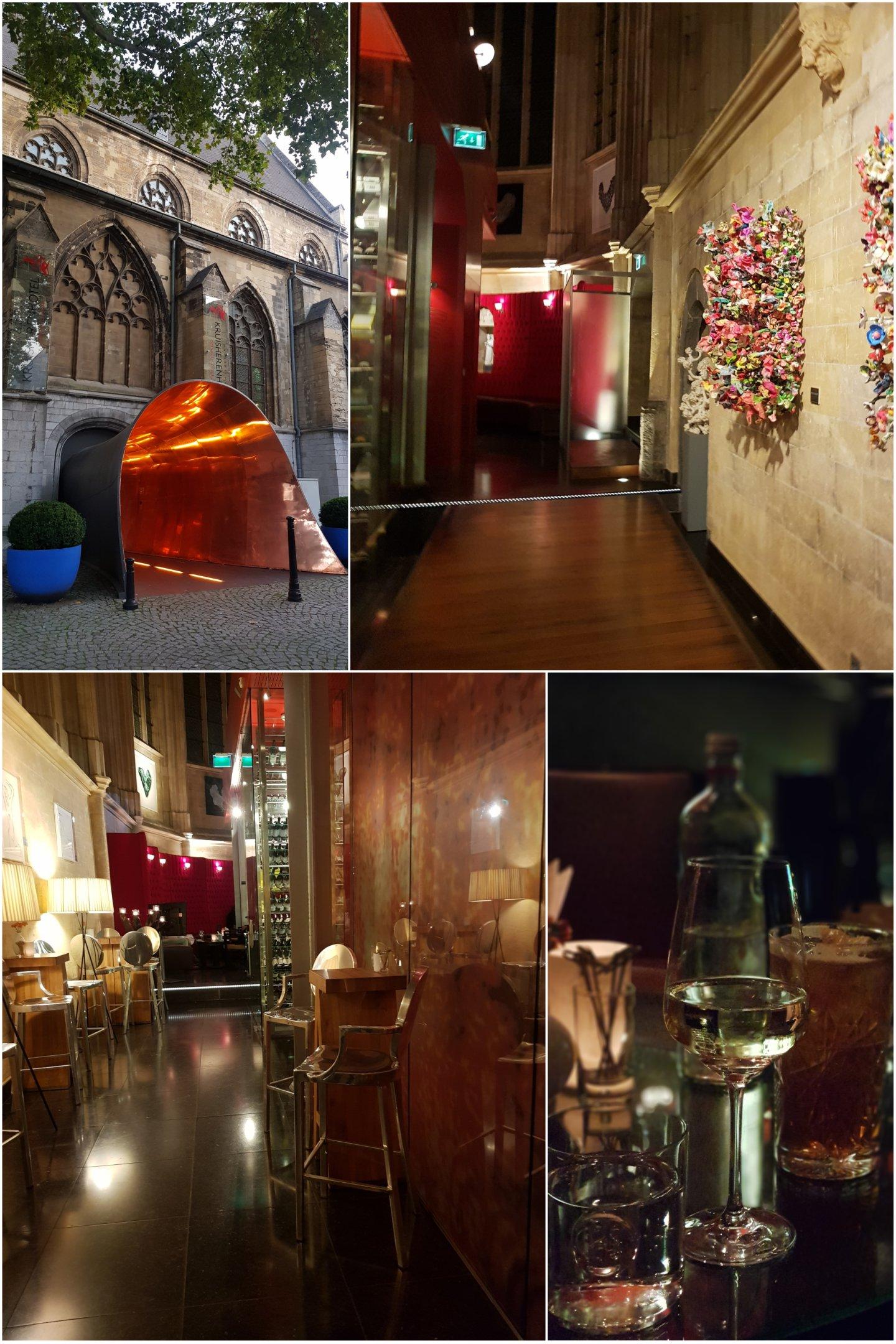 Maastricht Tipps Rouge et blanc Weinbar im wunderschönen Kruisherenhotel