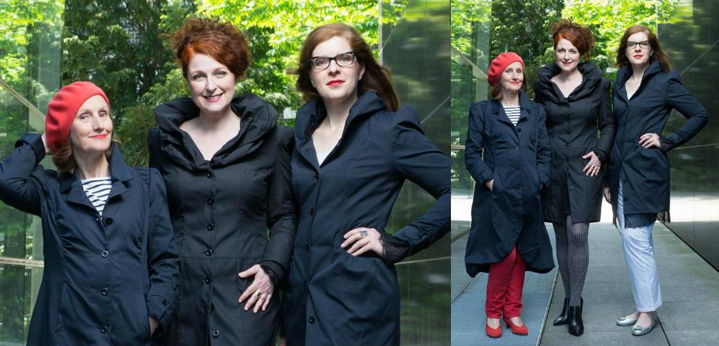 Die Bloggerinnen vom IKNMLO Modeblog für Frauer über 40 in BoJacks by BoCouture Hamburg
