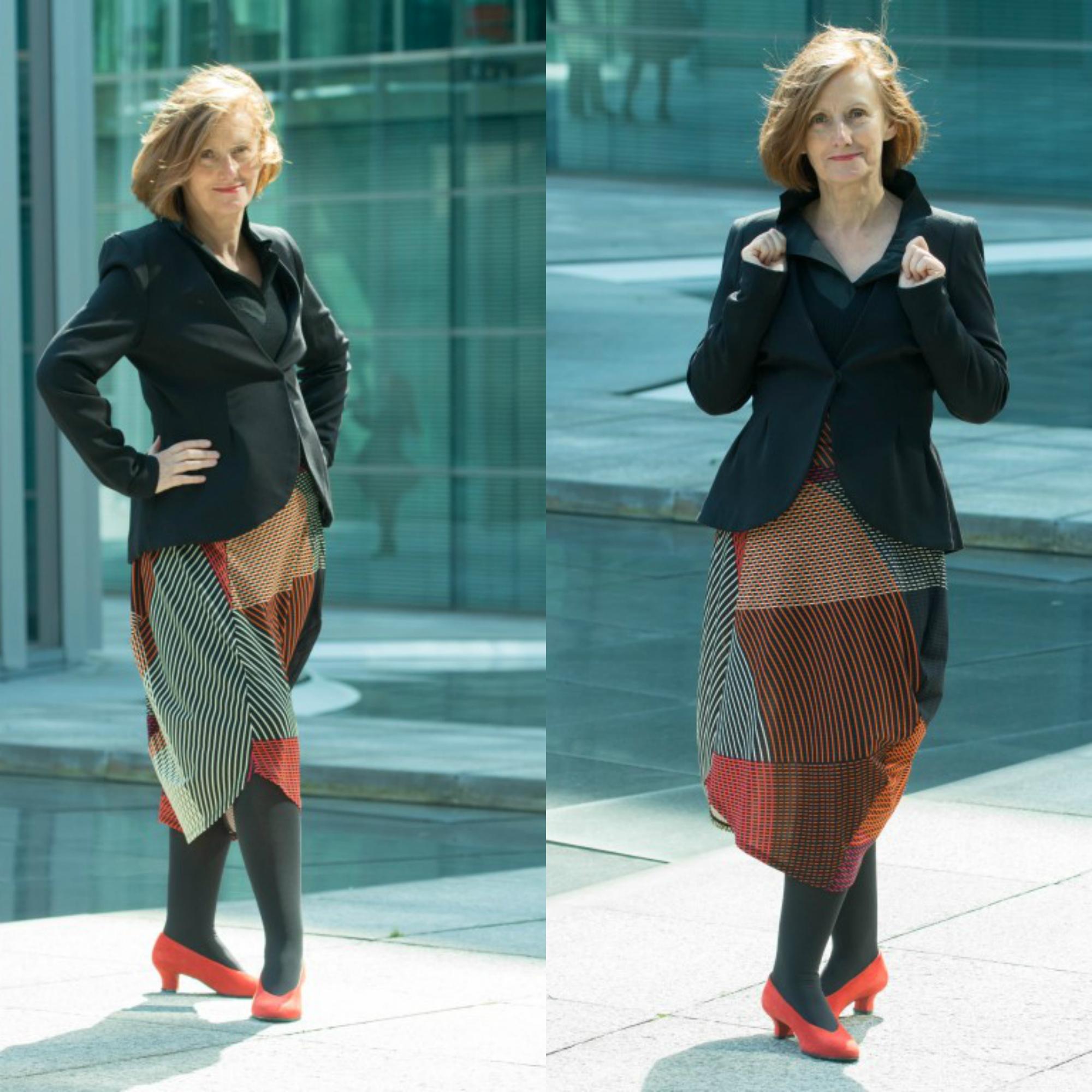 Ü60 Bloggerin Ursel vom Iknmlo Fashionblog für Frauen ab 40 über Stylingtipps für Blazer