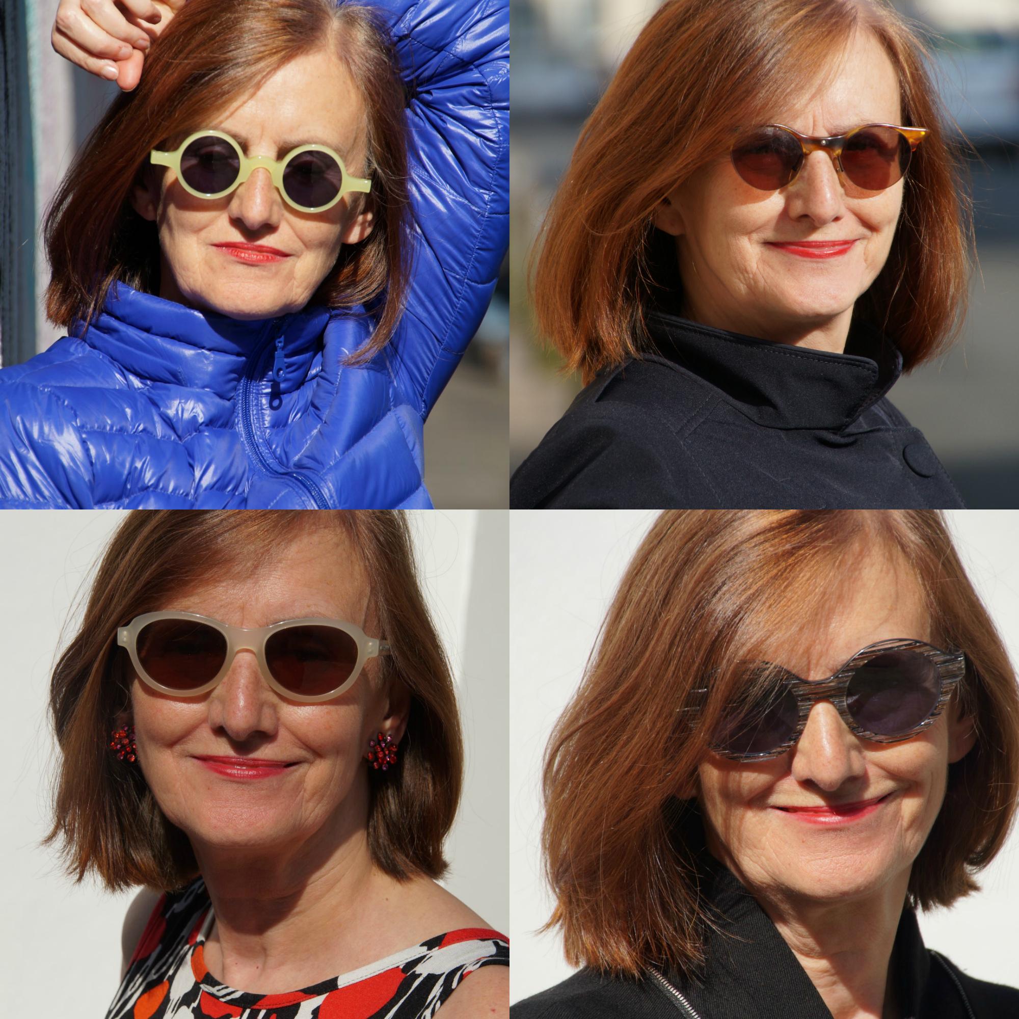 Ü60 Bloggerin Ursel vom Iknmlo Fashionblog für Frauen ab 40 über Sonnenbrillen