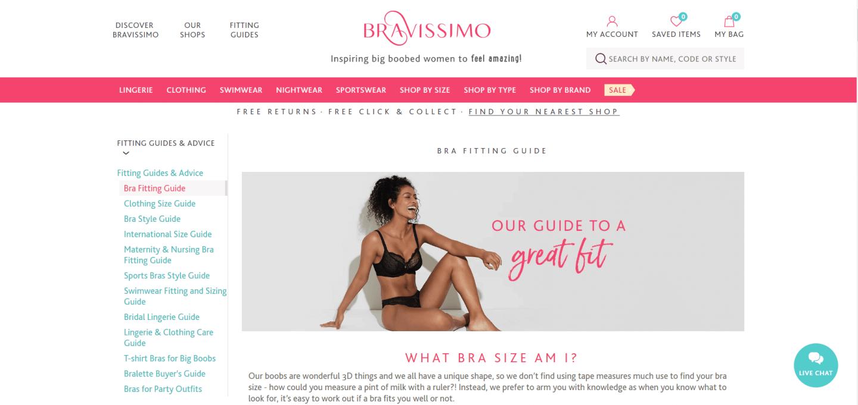 Bravissimo Online Shop