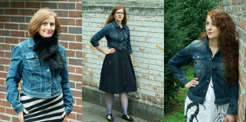 Jeansjacken Styling für Frauen über 40 von den Ü40 Modebloggerinnen @iknmlo
