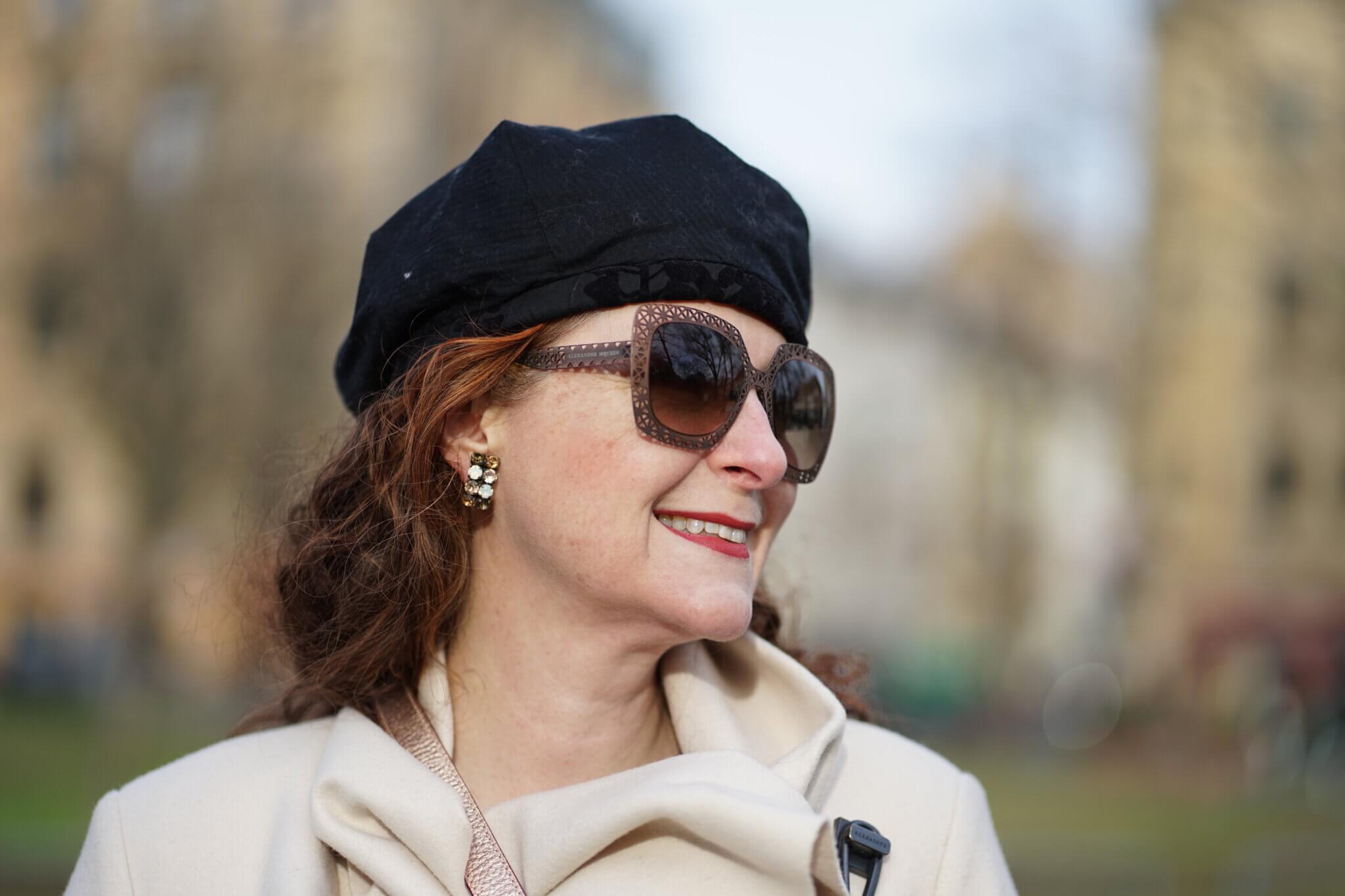 Sonnenbrille im Winter ü50