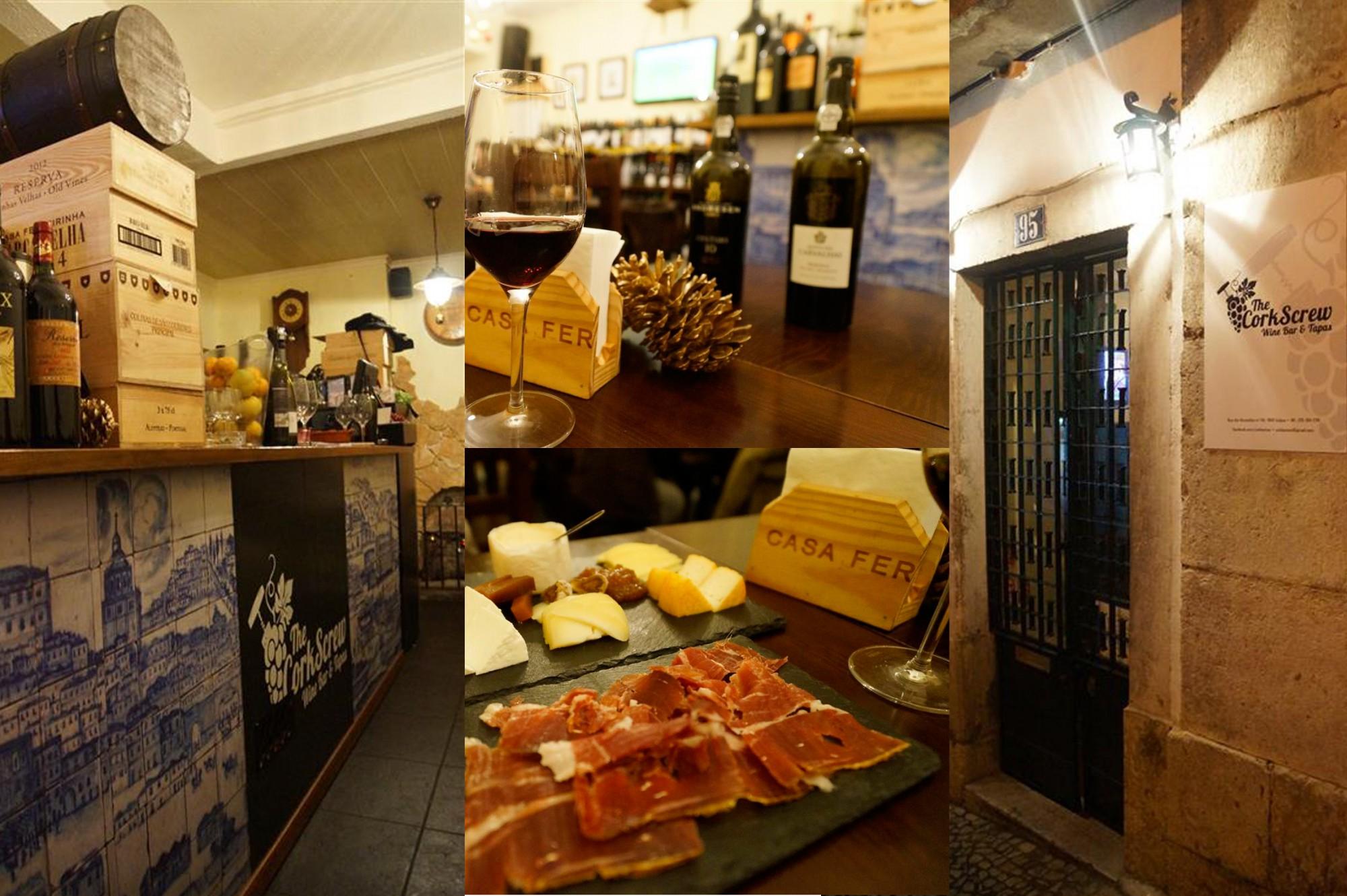 Reisetipps Lissabon in Winter von Ü40 Bloggerin Cerstin iknmlo Corkscrew Wine Bar