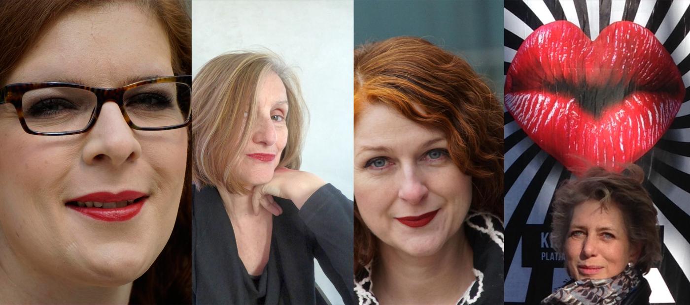 Ü40 Bloggerinnen mit roten Lippen