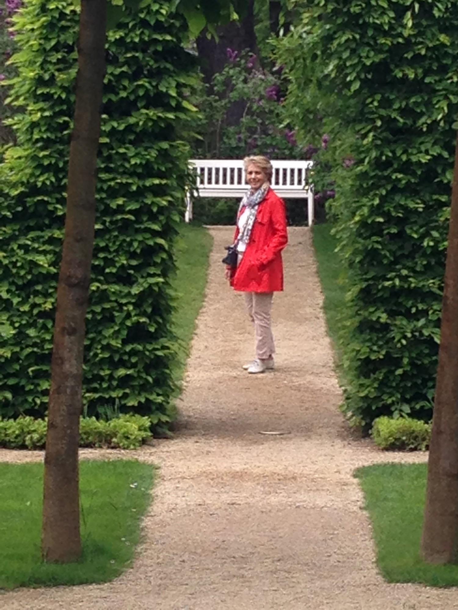 ...im Garten der Liebermann-Villa