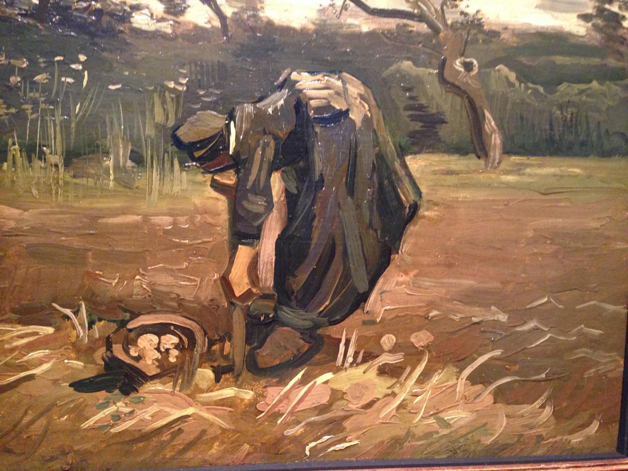 van Gogh: Frau auf dem Kartoffelacker