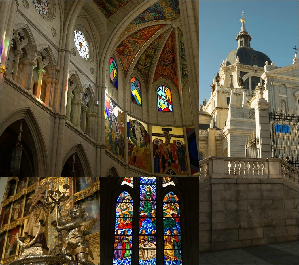 Reisetipps Madrid im Winter Almudena Kathedrale