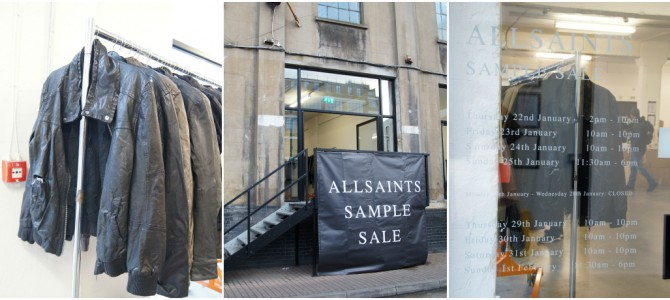 Window Shopping: All Saints Lederjacke