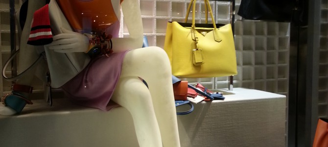 Window Shopping: Prada