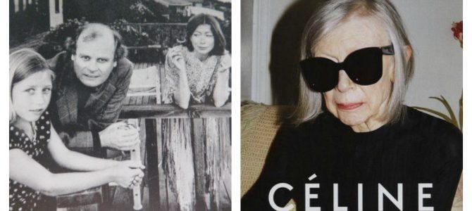Joan Didion, 80jähriges It-Girl, Stilikone und Kultautorin