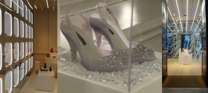 Window Shopping: Cinderella Pumps in der Melissa Galerie, London