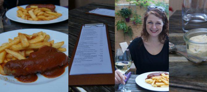 Neu entdeckt: Currywurst im Wiggebaach, Köln