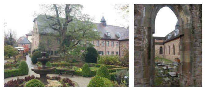 Auszeit im (ehemaligen) Kloster Hornbach