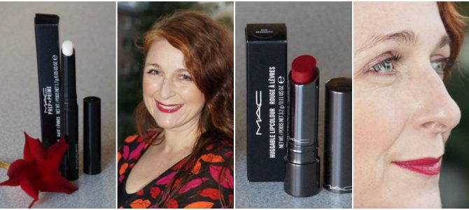 MAC Huggable Lip Color in Red Necessity