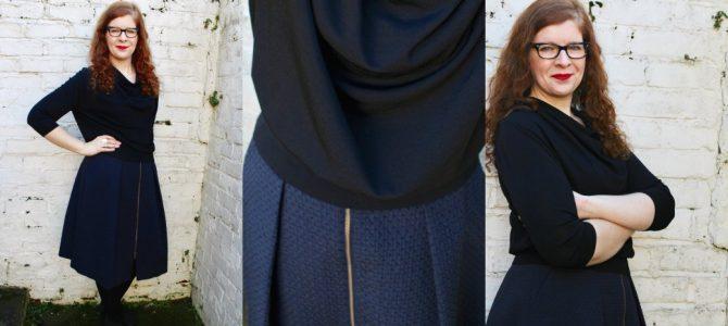 Schwarz + Blau = absolut wunderbar