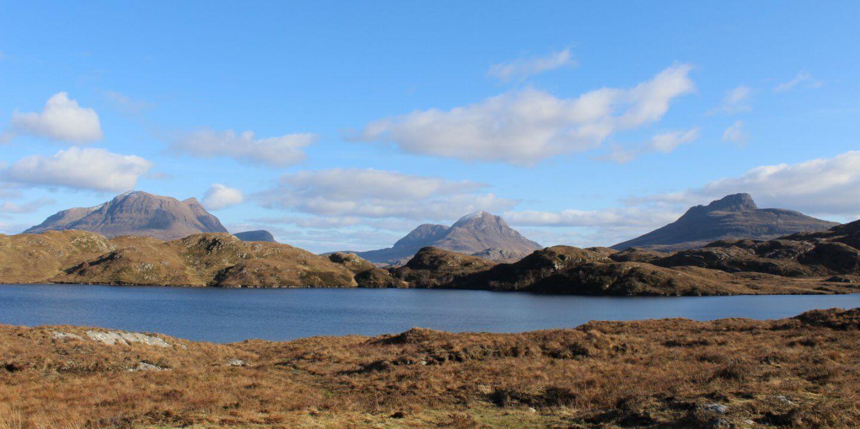 Highlands Assynt Wester Ross Schottland Zufluchtsort Reisen Solotraveller