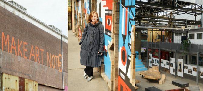 Kunststad in der MDSM Werft Amsterdam