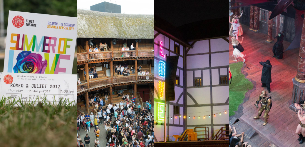 Romeo & Juliet im Shakespeare Globe Theatre in London