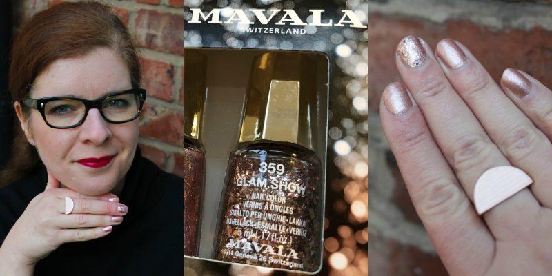 Adventszeit: Time to Shine mit Mavala Glam Show Mini Color Nagellack