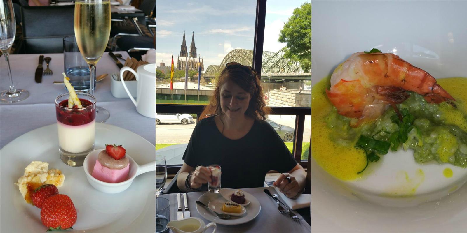 Sonntags-Brunch im Glashaus Restaurant des Hyatt in Köln Deutz iknmlo Blog für Frauen über 40
