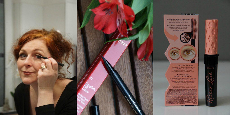 Clarins Graphik Eyeliner Look Glamour Silver Make-up für Frauen über 40 von Cerstin 40 plus Fashionblogger von iknmlo