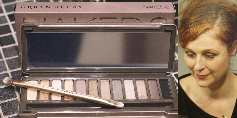 Naked 2 Urban Decay Look Glamour Silver Make-up für Frauen über 40 von Cerstin 40 plus Fashionblogger von iknmlo