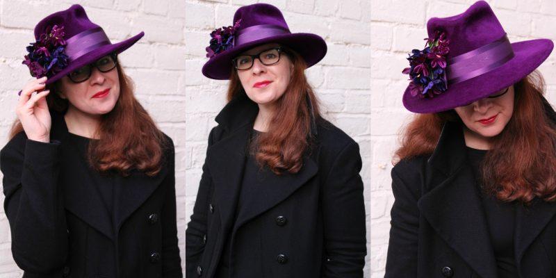 Bloggerin Tanja vom Ü40 Iknmlo Mode und Fashionblog über ihren Philip Tracy Hut