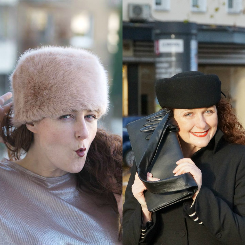 Ü40 Winteraccessoires Hüte Bloggerin Cerstin aus Köln für den Modeblog iknmlo Köln