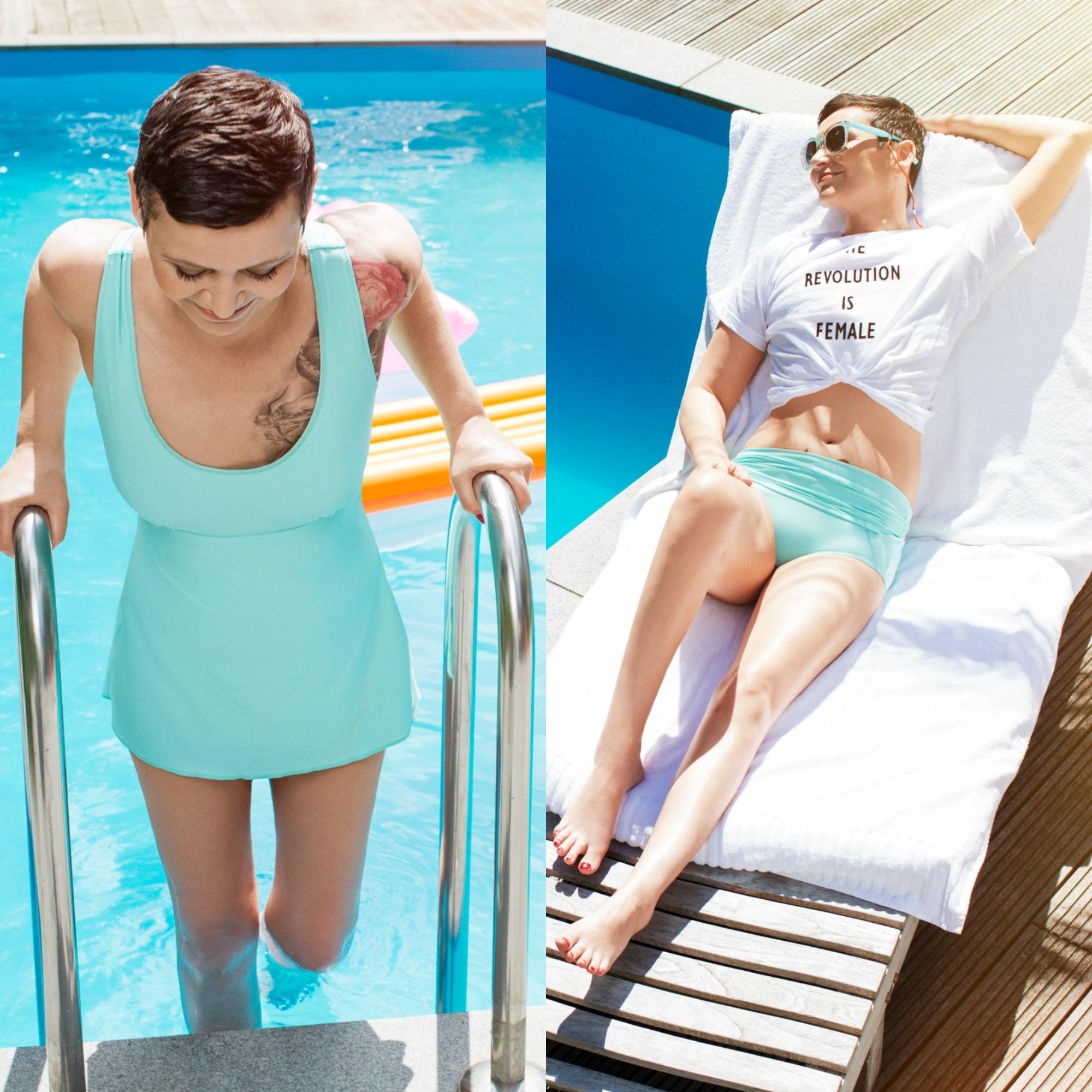 Ü60 Bloggerin Ursel vom Iknmlo Fashionblog für Frauen ab 40 über Stefani Nennecke (IPANII)