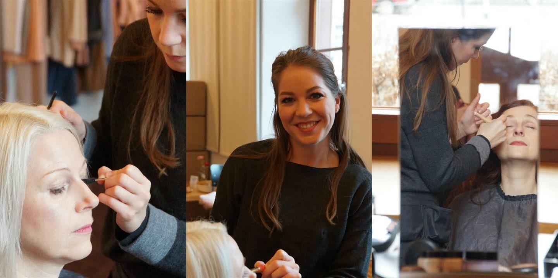Make-up fürs #fühldichgut Fotoshooting La Roche-Posay iknmlo ü40 Modeblog