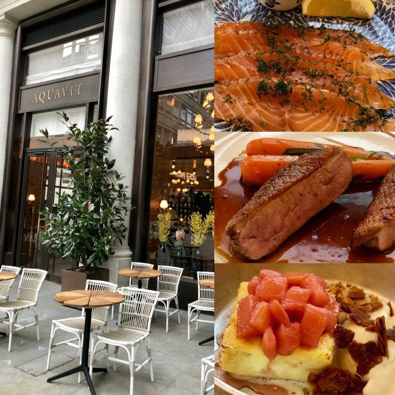 Aquavit London Restaurant Mittagessen Skandinavien IKNMLO