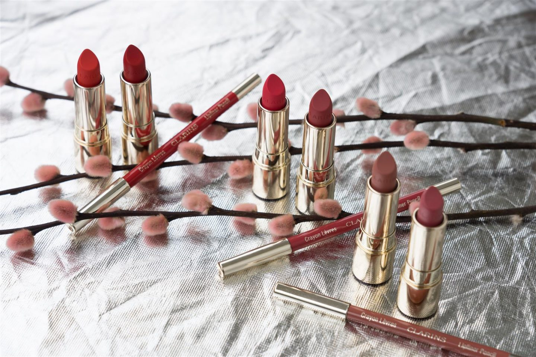 Clarins Joli Rouge Velvet Ü40 Modeblog iknmlo