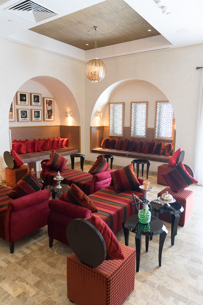 Laico Tunis Shisha Lounge Shisha Bar 5-Sterne-Hotel Tunesien