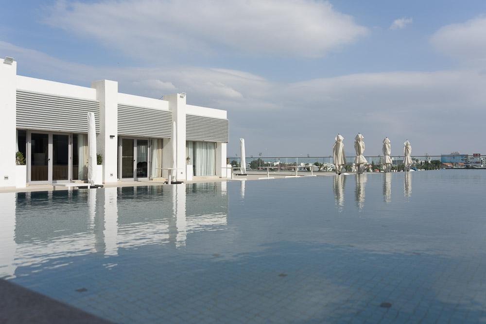 Laico Tunis Infinity-Pool 5-Sterne-Hotel Tunesien
