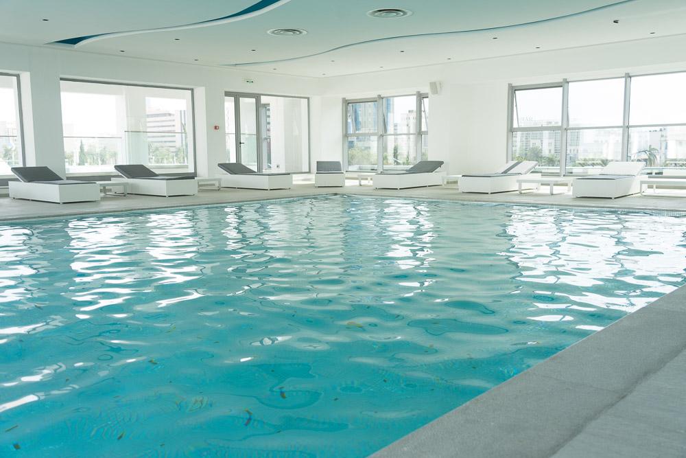 Laico Tunis Indoor-Pool 5-Sterne-Hotel Tunesien
