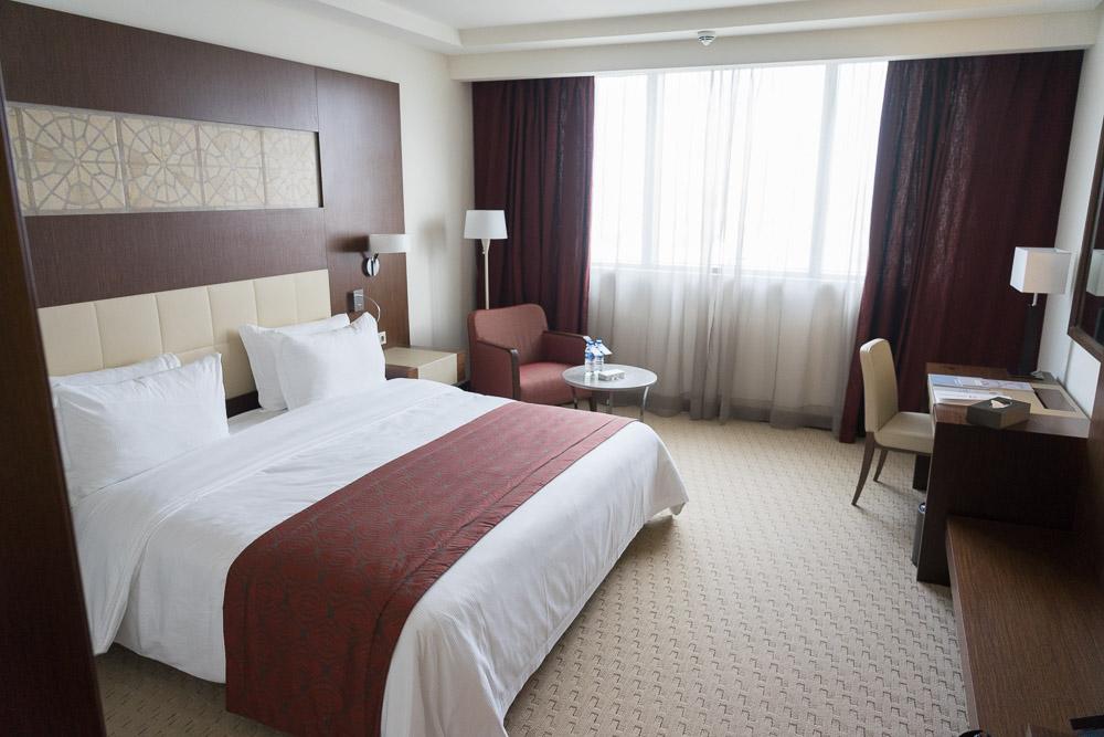Doppelzimmer des Laico Tunis 5-Sterne-Hotel Tunesien Erfahrungsbericht