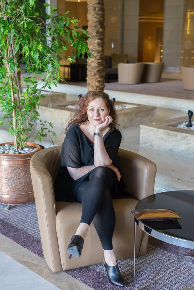 Ü40 Modebloggerin Cerstin in der Lobby des Laico Tunis 5-Sterne-Hotel Tunesien Erfahrungsbericht