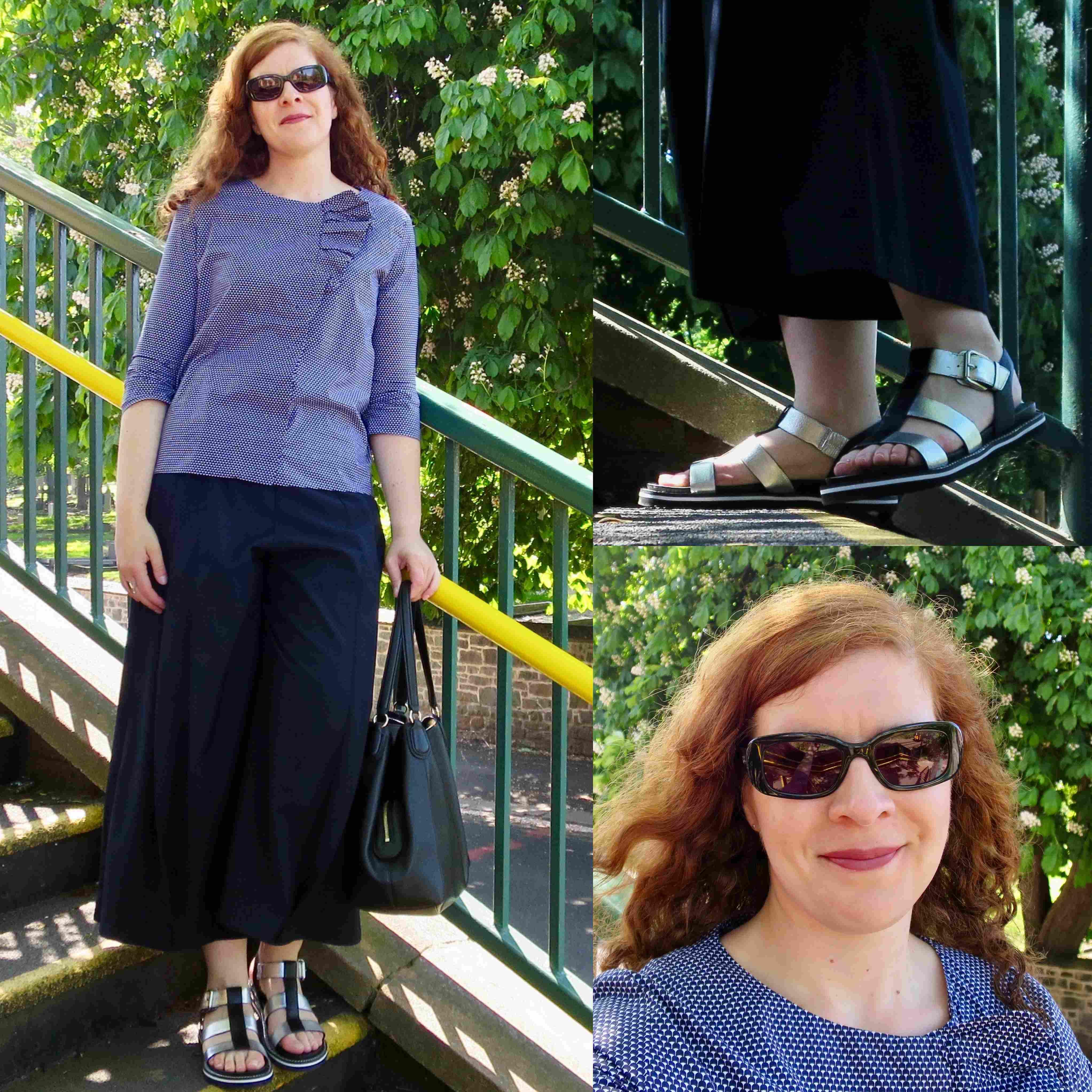 Ü40 Modebloggerin Tanja Sandalen Schuhe Sommer Fashion Mode
