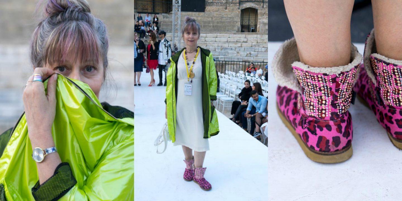 #advancedstyle Looks auf der Tunis Fashion Week 2018