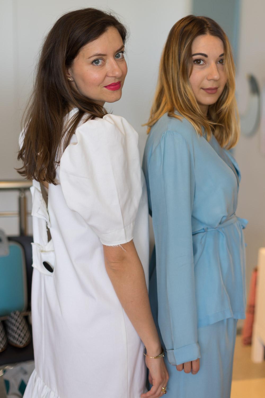 Supersouk concept store Tunis Besitzerin in Kleidern von 8 02